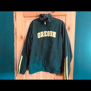 Nike Oregon Ducks Windbreaker Jacket with Liner